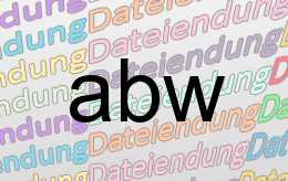 abw Datei
