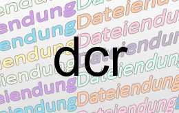 dcr Datei