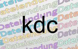 kdc Datei