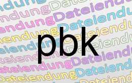 pbk Datei