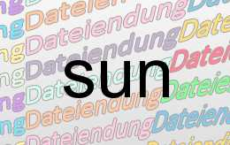 sun Datei